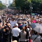 Al menos tres movilizaciones en la Ciudad de México - Foto de Notimex