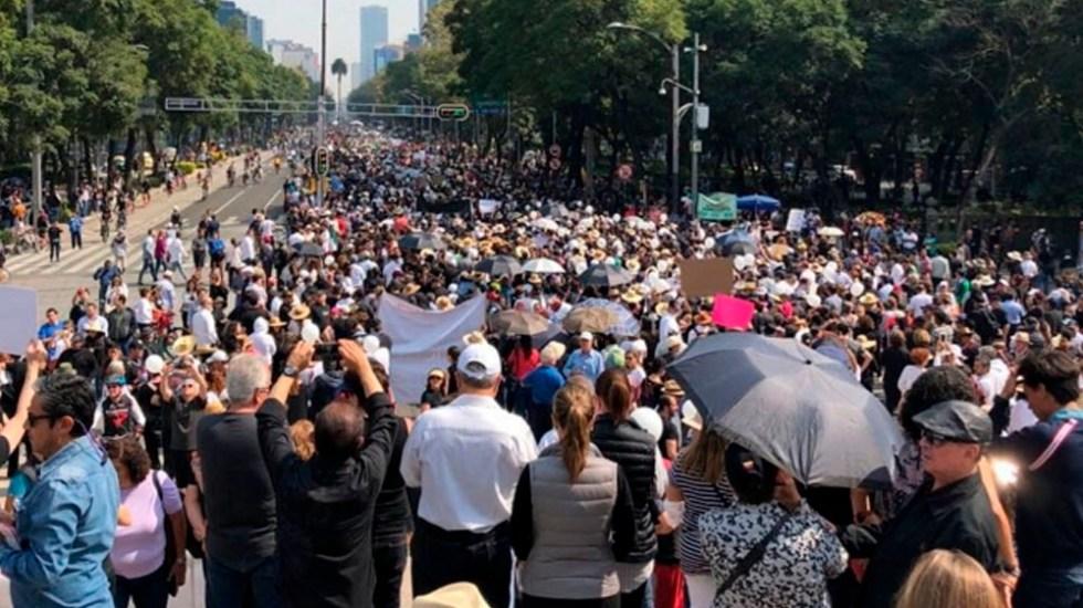 Prevén ocho movilizaciones en la Ciudad de México - Foto de Notimex