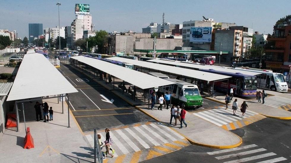 Sheinbaum anuncia cancelación de Cetram Chapultepec - Paradero de Metro Chapultepec. Foto de Internet