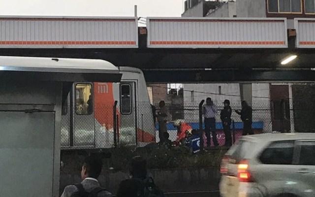 Persona cae a las vías del Metro Viaducto - Viaducto