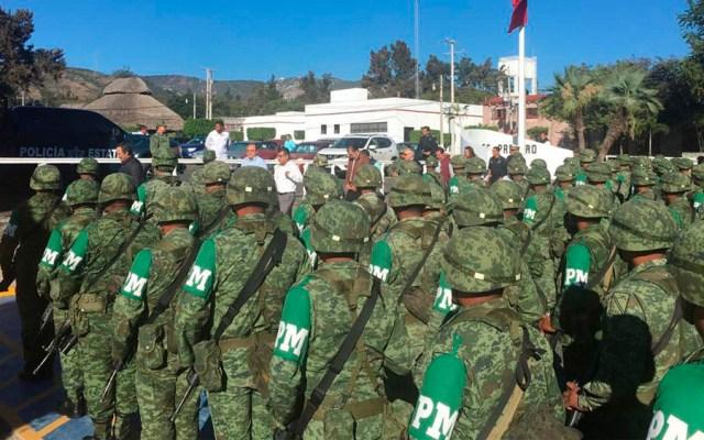 Policía Militar que formará parte de Guardia Nacional llega a Guerrero - Foto de @RAlvarezHeredia