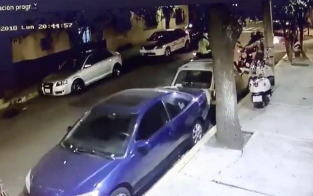 #Video Se resiste a entregar su motocicleta y le disparan - motocicleta