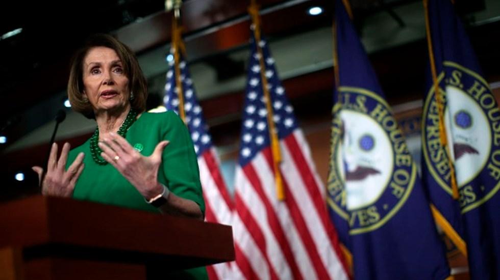 Muro fronterizo es inmoral e inefectivo: Nancy Pelosi - Nancy Pelosi. Foto de AFP