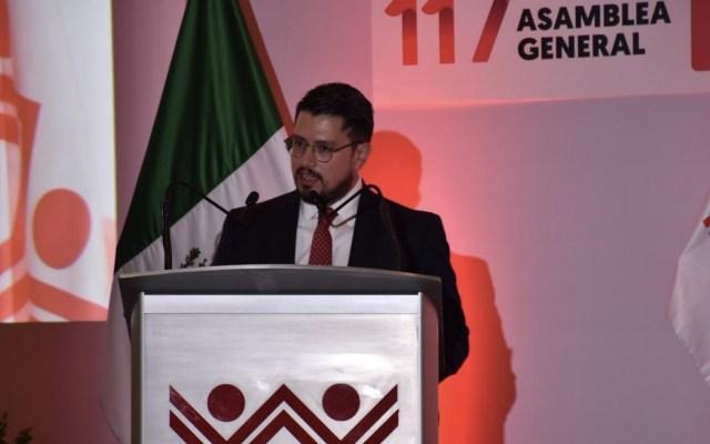 Director del Infonavit denuncia construcción de viviendas en zonas de riesgo - Foto de Twitter Infonavit