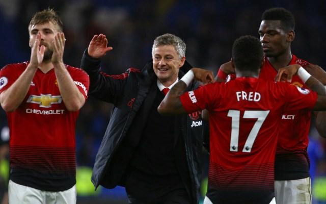 Manchester United golea en primer duelo de Solskjær como DT interino - Foto de AFP