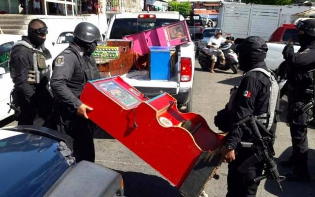 Operativo en Mercado Central de Acapulco deja cinco detenidos - Foto de Vocero Roberto Álvarez Heredia