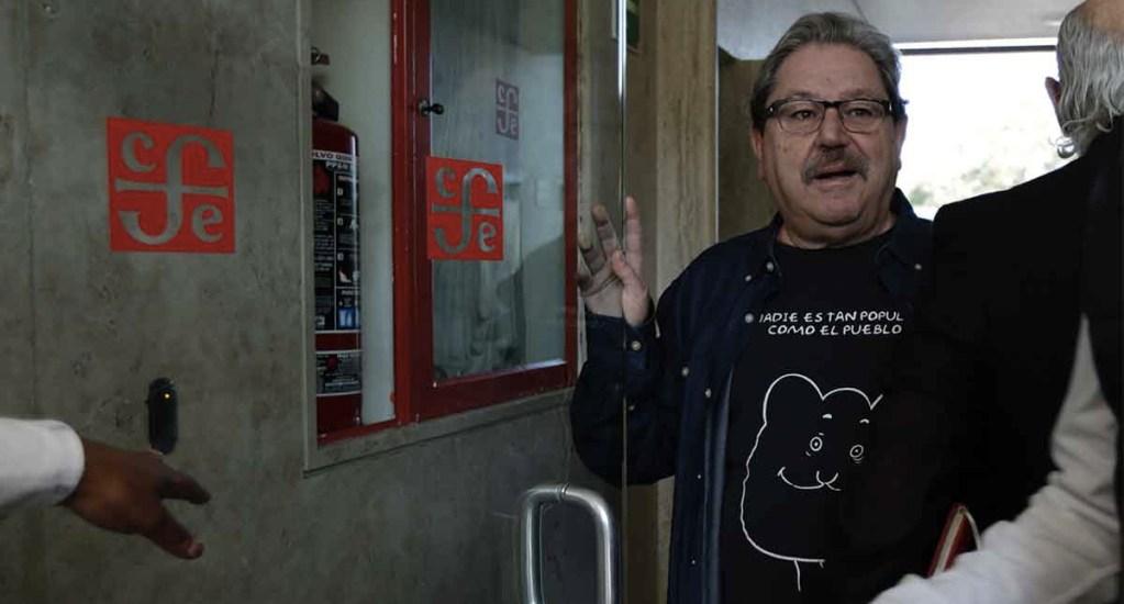 Paco Ignacio Taibo II asume gerencia editorial del FCE - Foto de Excélsior