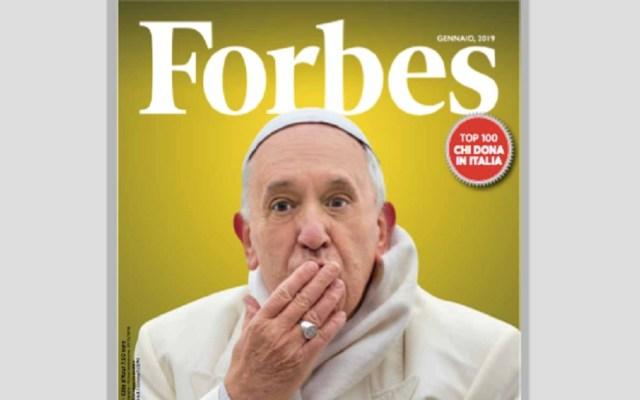Forbes da su portada al papa Francisco - Papa Francisco en portada de Forbes Italia. Foto de Forbes