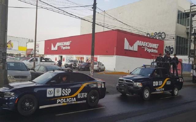SSP-CDMX ofrece escolta para retirar dinero en bancos - Patrullas de la SSP-CDMX. Foto de @PoliciaCDMX