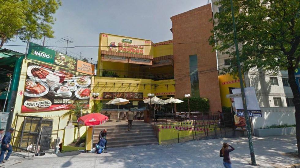 #Video Ejecutan a comensal en restaurante de Marina Nacional - Foto de Internet