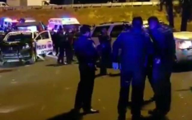 Detienen a ocho hombres tras persecución y balacera en Ixtapaluca - persecución y balacera ixtapaluca