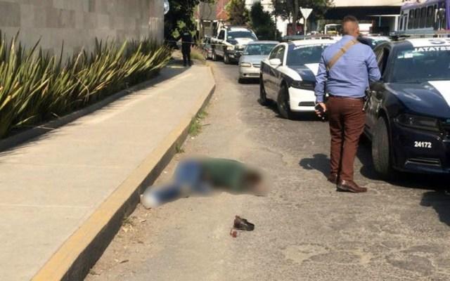 Policía de Investigación abate a asaltante en Tlalnepantla - Foto de @MrElDiablo8