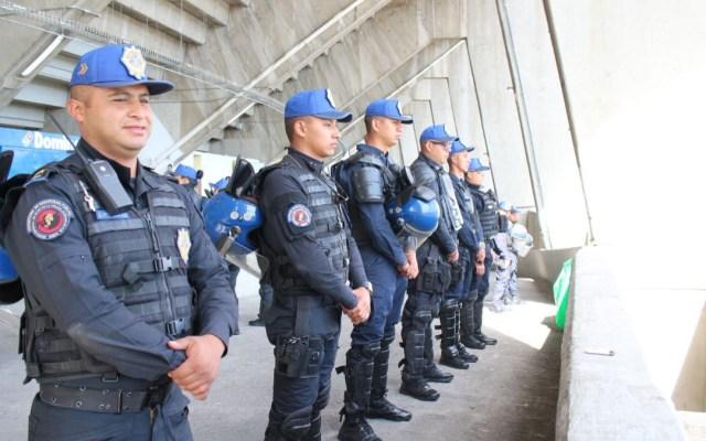 Desplegarán más de 5 mil policías para vigilar la final de ida - Desplegarán a 5 mil policías para la final de ida en el azteca