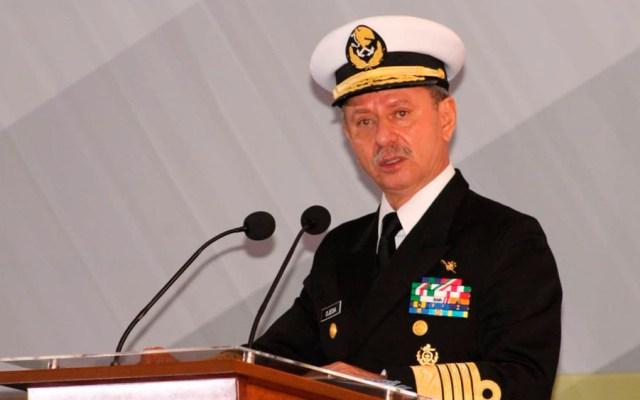 José Rafael Ojeda Durán, secretario de Marina, da positivo a COVID-19 - Foto de @AlmiranteSrio