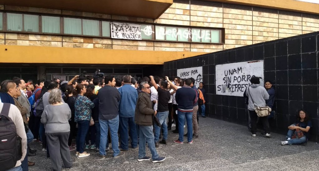 UNAM rechaza provocaciones y violencia - Foto de @QuadratinMexico