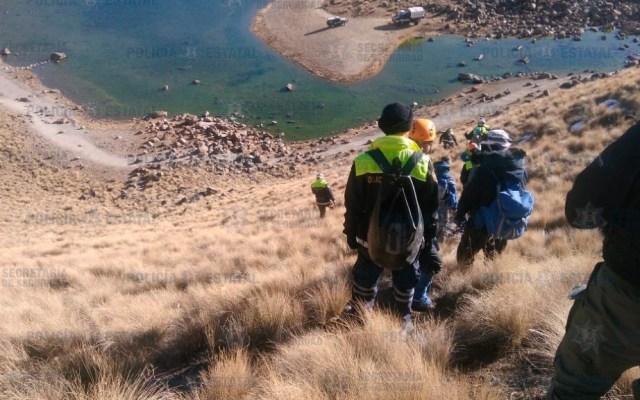 Rescatan a turistas varados en el Nevado de Toluca - Foto de @SS_Edomex