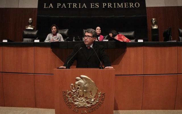Morena espera que su mayoría permita nombramiento de nuevo ministro de la Corte - Foto de Ricardo Monreal