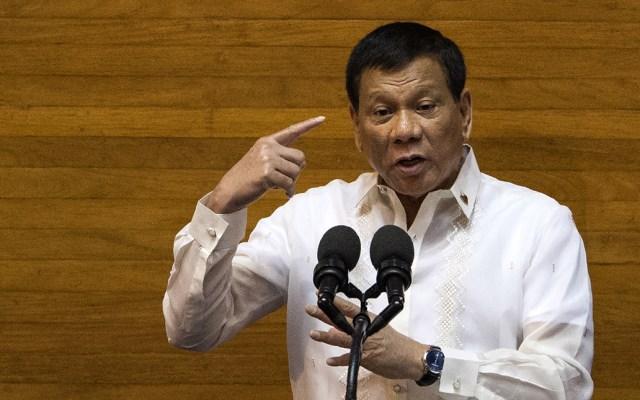 """Duterte asegura que se """"curó"""" de la homosexualidad - Foto de AFP"""