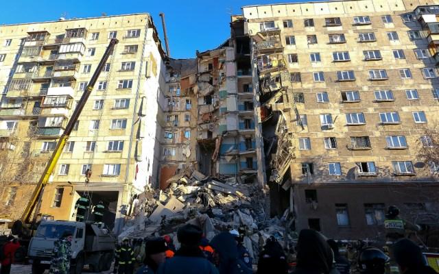 Cuatro muertos y decenas de desaparecidos tras explosión de gas en Rusia - Foto de AFP