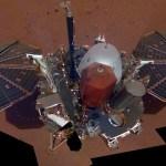 Sonda InSight de la NASA toma su primera selfie en Marte - Foto de NASA
