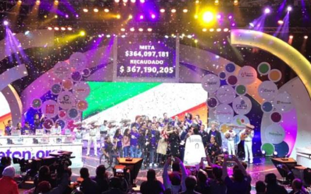 El Teletón supera la meta de recaudación - Fundación Teletón superó la meta de 2018