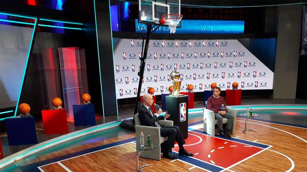NBA y Televisa renuevan acuerdo para la transmisión de partidos - NBA y Televisa renuevan acuerdo para la transmisión de partidos