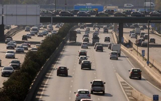 Madrid aplica su propio Hoy No Circula por contaminación - Tránsito de Madrid. Foto de @MADRID
