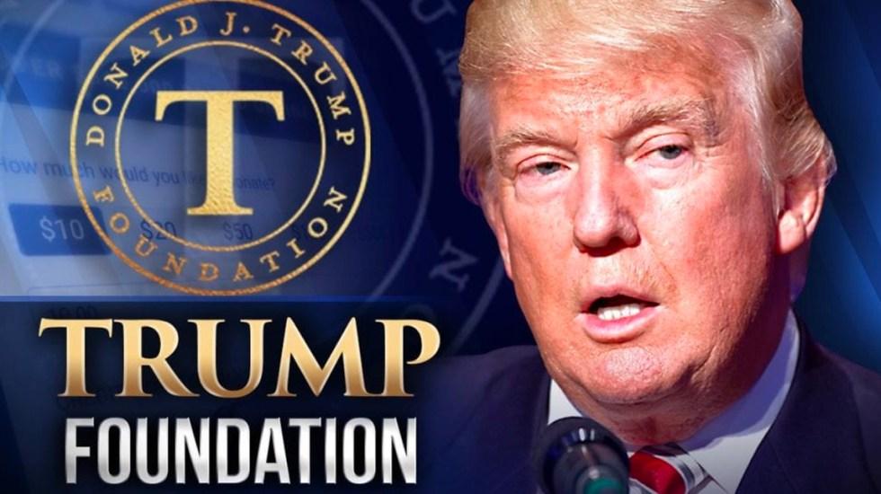 Trump acepta cerrar fundación de caridad acusada de conducta ilegal - Foto de MyFox47