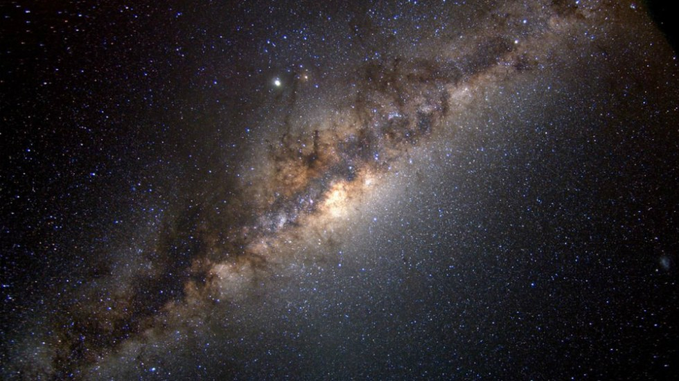 Astrónomos detectan señales de radio insólitas desde centro de la Vía Láctea - Vía Láctea. Foto de NASA