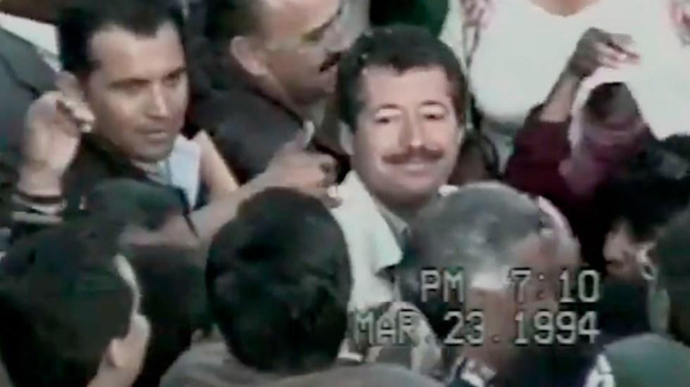 Difunden video sin editar del asesinato de Colosio - Captura de pantalla