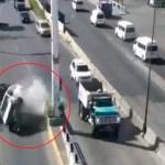 #Video Volcadura en la carretera Toluca-Naucalpan