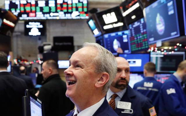 Wall Street logra su mejor desempeño en nueve años - Foto de Forbes