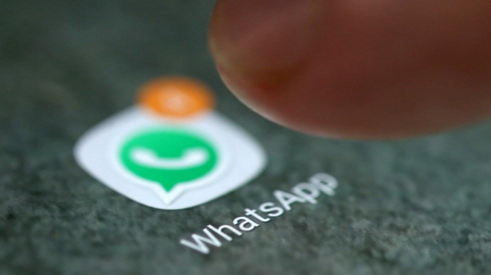 Mujer puede ver mensajes de WhatsApp de otro usuario - Aplicación de WhatsApp. Foto de Internet
