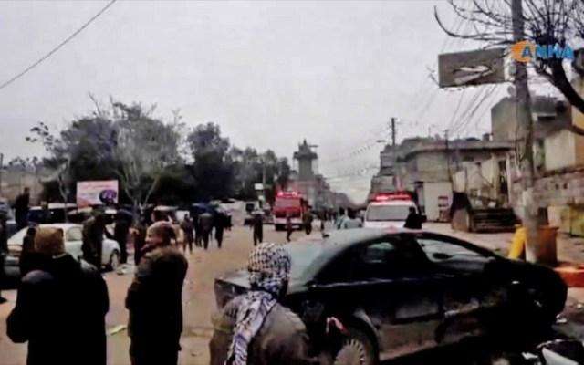 Ataque suicida en Siria deja 16 muertos, dos de ellos soldados de EE.UU. - ataque suicida siria muertos