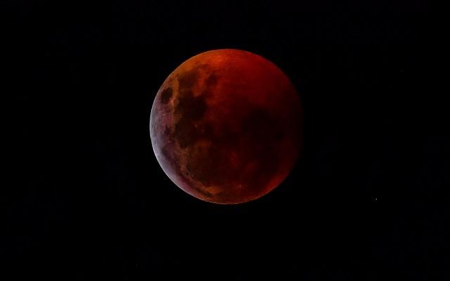 #Fotos Eclipse de luna - Foto de AFP.
