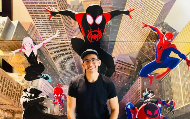 Animador mexicano emocionado por el Óscar de 'Spider-Man: Into The Spider-Verse' - Foto de Notimex