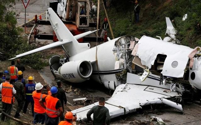 Murieron 556 personas por accidentes de avión en 2018 - Accidente de avión en Honduras. Foto de Internet
