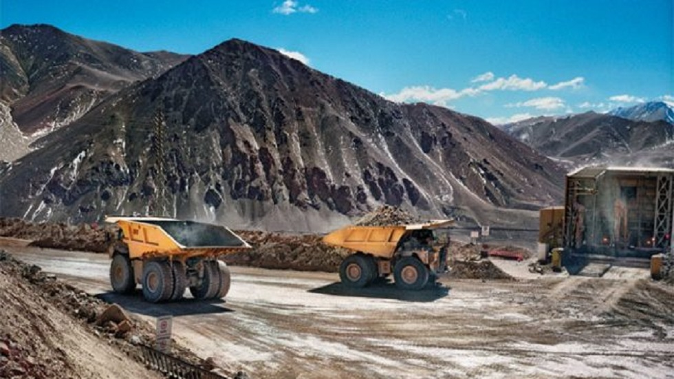 Actividad minera. Foto de Internet