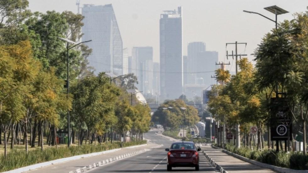 Mejora calidad del aire tras desabasto de gasolina en la Ciudad de México - Foto de Notimex