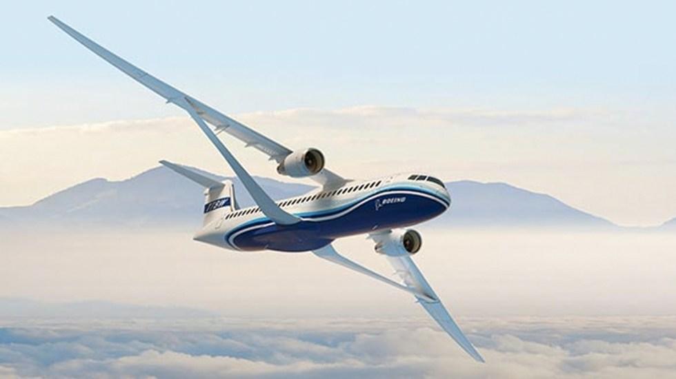 Boeing presentó diseño de ala supersónica para aviones comerciales - Foto de Boeing