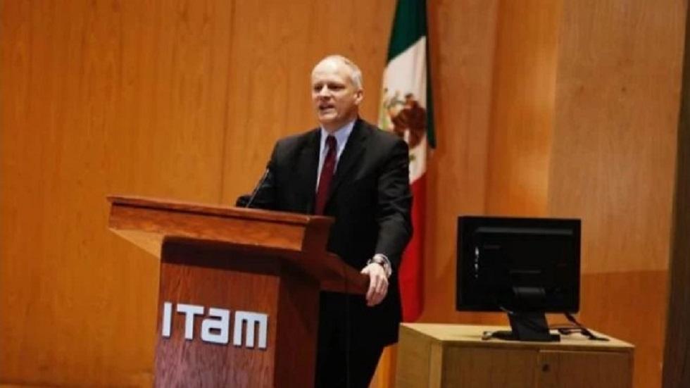 Alejandro Werner en el Seminario ITAM. Foto de El Universal
