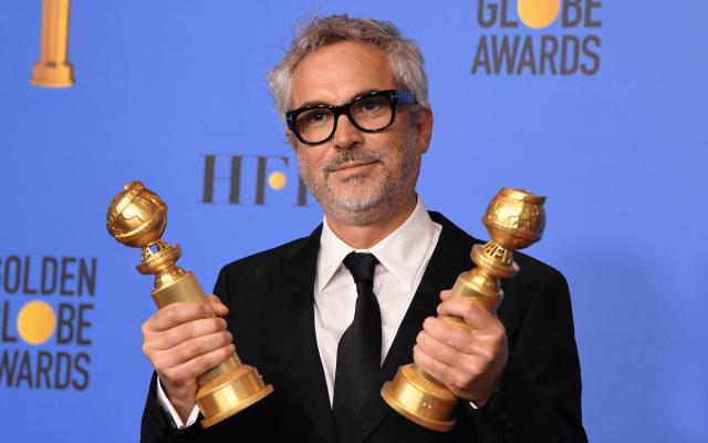 'Roma' Mejor Película Extranjera y Cuarón Mejor Director en los Golden Globes - Foto de AFP