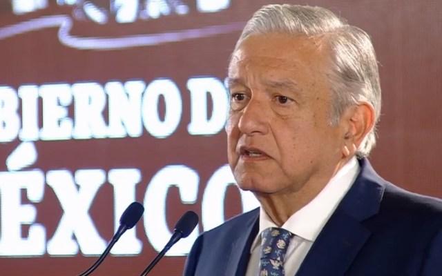 Conferencia de AMLO desde Monterrey - AMLO Conferencia 29 de enero. Captura de pantalla