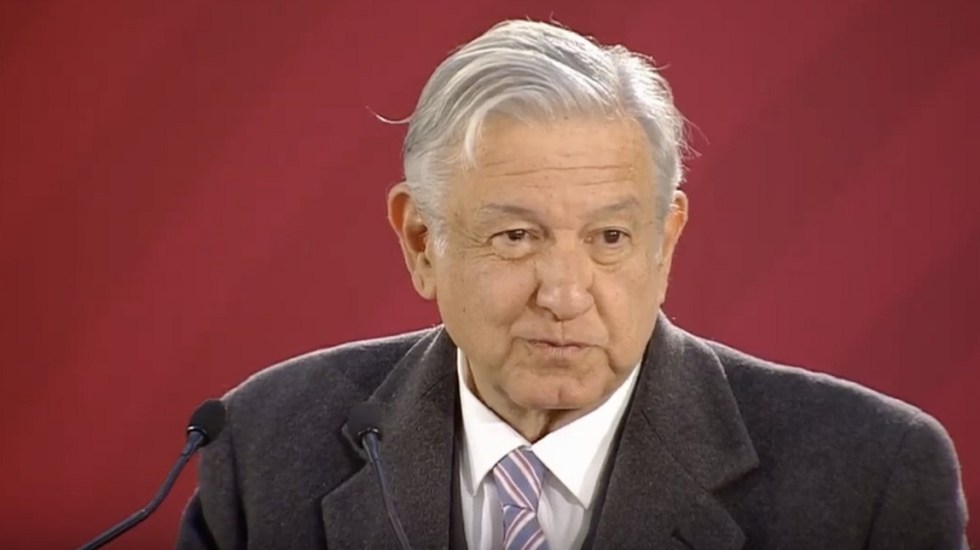 Conferencia de AMLO (25-01-2019) - Captura de pantalla