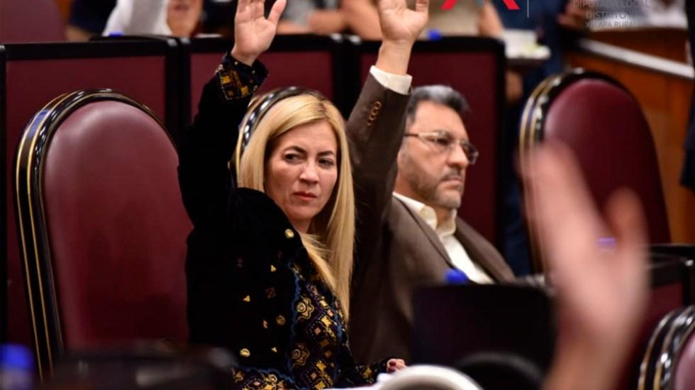 Diputada de Morena pide toque de queda a mujeres para evitar feminicidios - Foto de @anamferraez