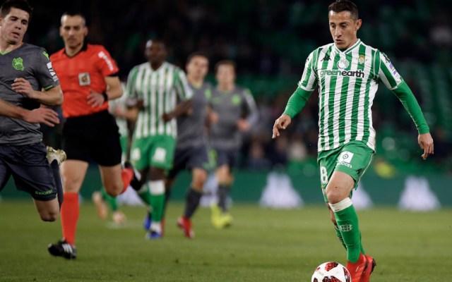 Betis y Real Sociedad empataron en Copa del Rey; jugaron Guardado y Moreno - Foto de @RealBetis
