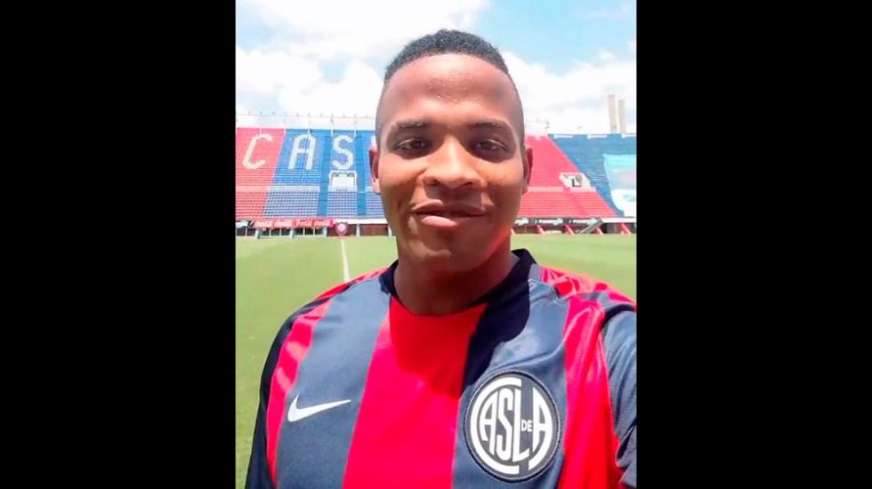 Andrés Rentería nuevo jugador del San Lorenzo