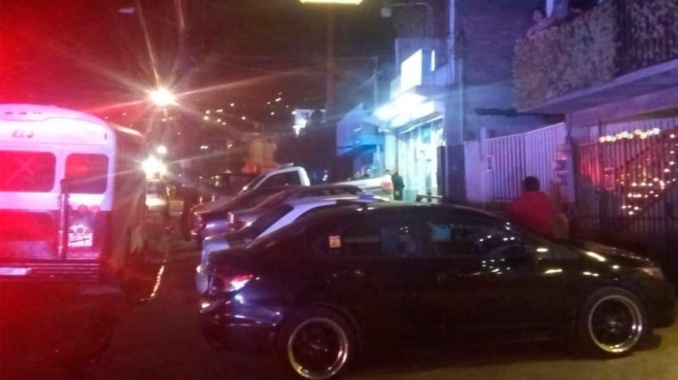 Asesinan a policía en restaurante deTijuana - Foto de @LaJornadaBC