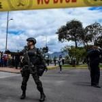 Gobierno de Colombia atribuye al ELN ataque en Bogotá - Foto de Juan BARRETO / AFP