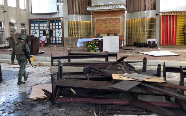 Filipinas eleva alerta por terrorismo tras atentado en iglesia - Foto de Internet
